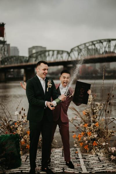 portland queer wedding