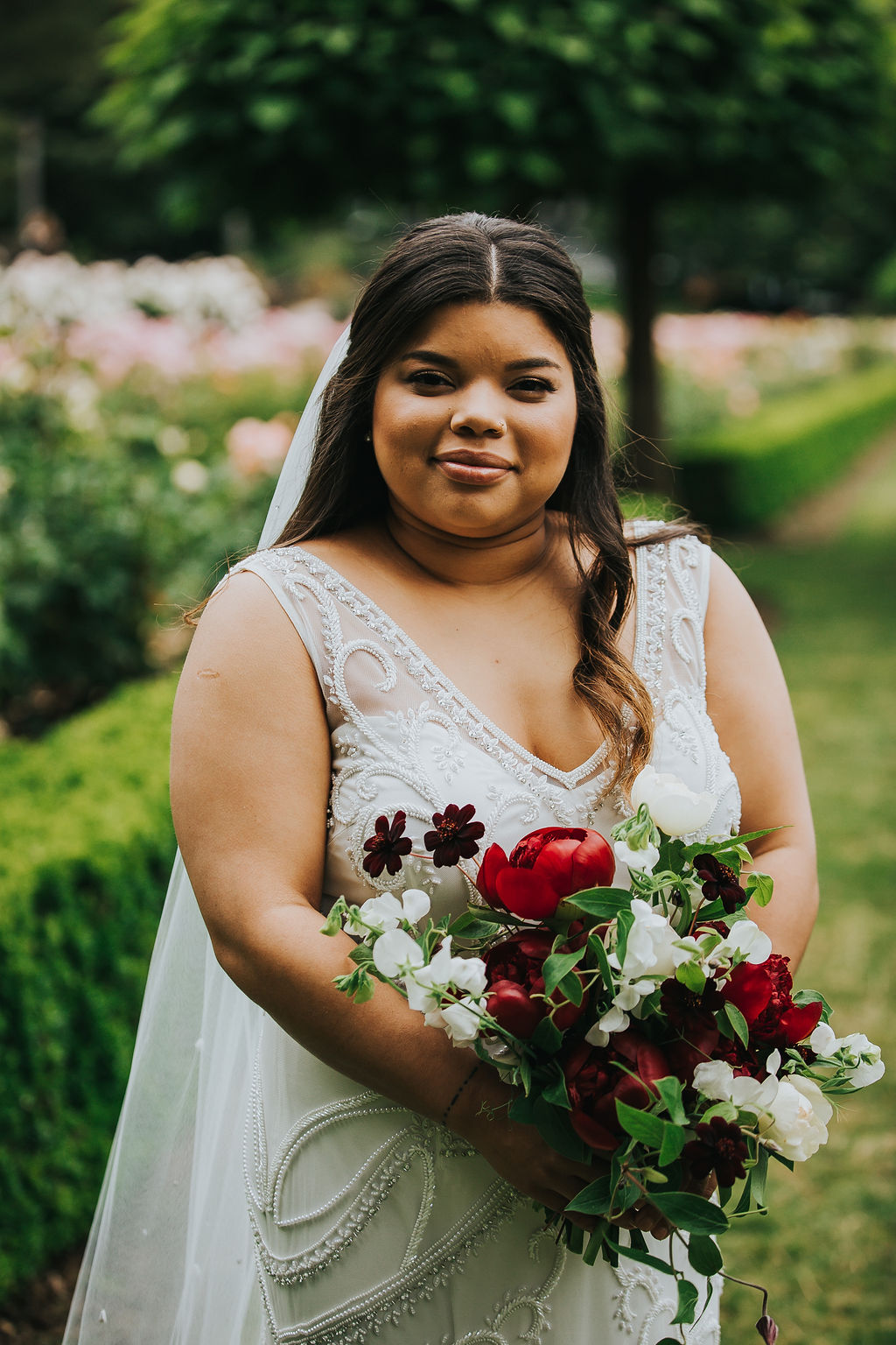 Rebecca Rizzo Photographics | Elder Hall Portland Wedding | Peachy Keen Coordination