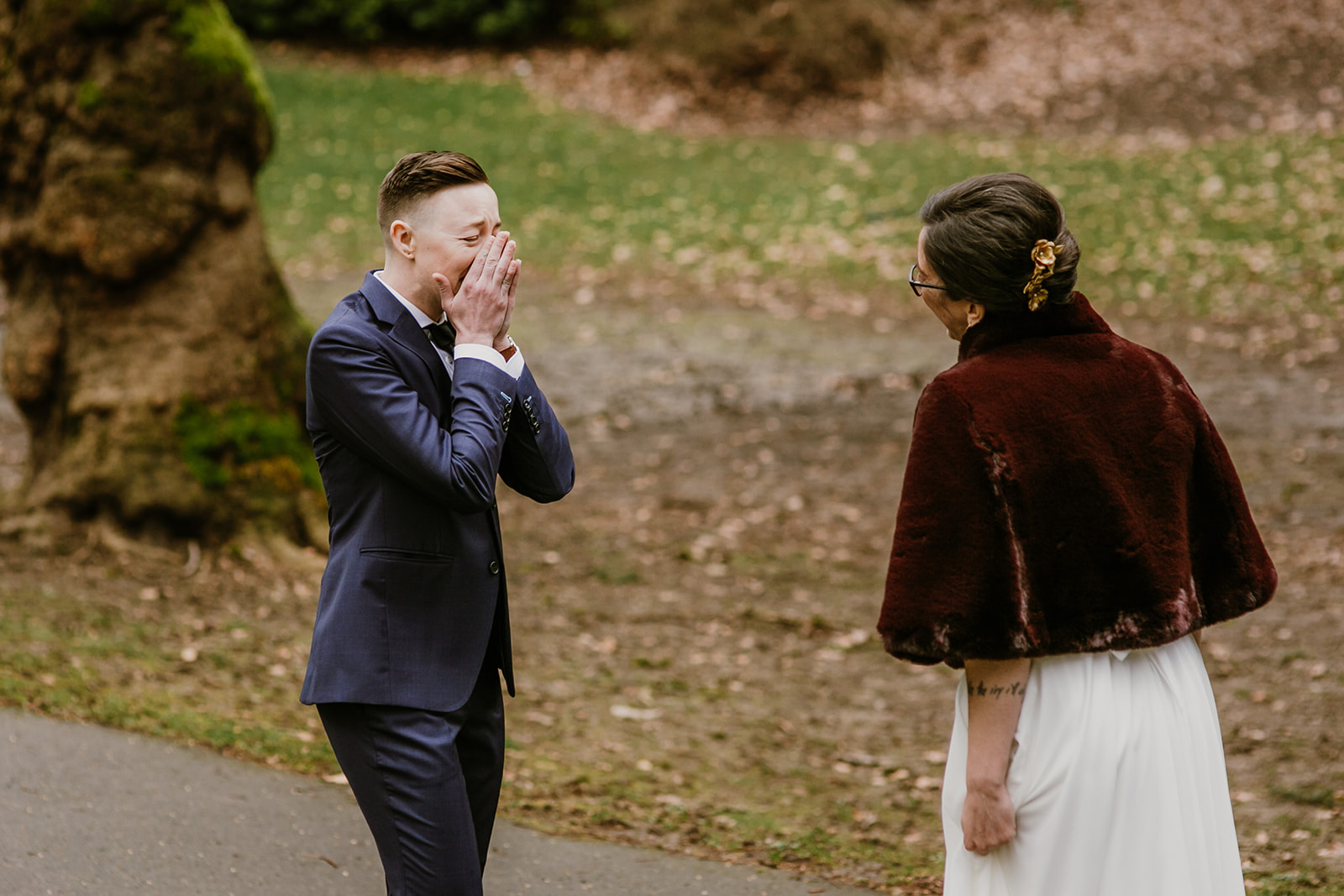 winter coopers hall wedding portland | planning: peachy keen coordination | photo: catalina jean photography